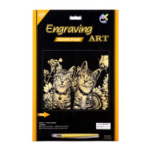 2015 Engraving Art Supplies Scratch Cards