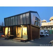 Casa de madeira SIP de montagem fácil de dois andares