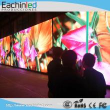 Mur visuel d'intérieur de l'écran P4 LED de HD LED pour le stand de dj a mené le cortina