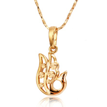30877 Xuping fashion jewelry nickel free special styles animal pendant gold filled jewelry