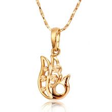 30877 Xuping bijuterias de níquel livre estilos especiais animais pingente de ouro cheio de jóias