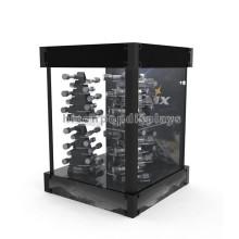 Fiable tienda al por mayor de la tienda linterna Dsiplay casos al por menor eléctrica antorcha exhibiciones