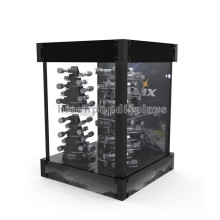Reliable Handmade Wholesale Store Flashlight Dsiplay Cases Retail Electric Torch Display Cases