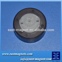 Imán de ferrita múltiples polos fabricante / máquina de lavar agua de drenaje máquina eléctrica rotor del imán