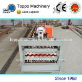 European Style Corrugated Color Coated Steel Roof Sheet Making Machine Buyer Praise