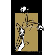 Pintura especial del bailarín