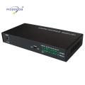 Conversor de mídia de fibra ótica de 10 / 100M 7ethernet ports