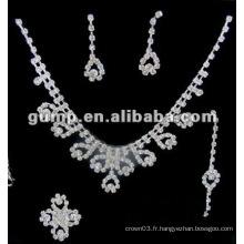 Dernier ensemble de bijoux de mariée (GWJ12-542)