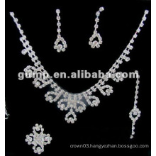 Latest bridal wedding jewelry set (GWJ12-542)