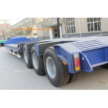 Sinotruk 3 as lowboy gooseneck trailers