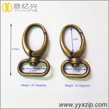 Aksesoris Metal Loop Cincin Oval Klip Hook