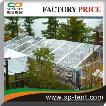 Transparentes Hochleistungsrahmenzelt 15x35m zum Verkauf