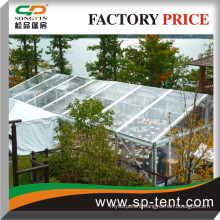 Transparent heavy duty Frame tent 15x35m for sale