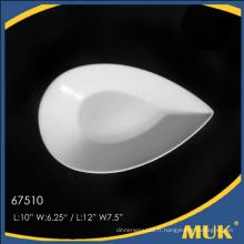 Eurohome fabricant nouveau design en gros porcelaine assiette