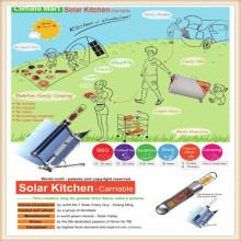 Солнечные кухонные принадлежности для кемпинга
