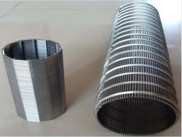 Wedge wire screen mesh