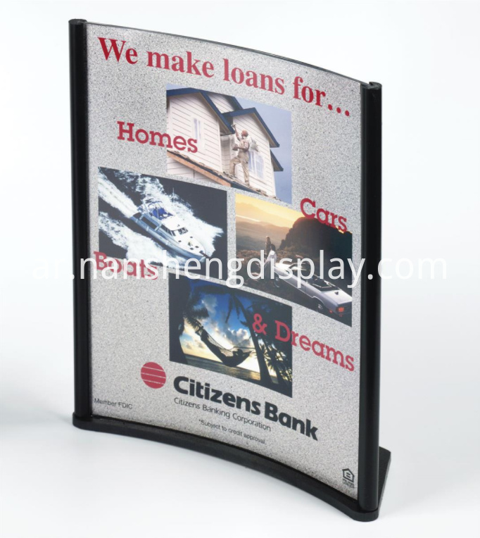 Top Insert Sign Holder