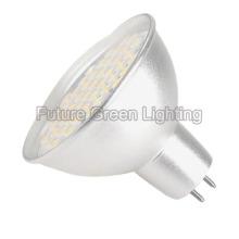 Lampe à LED MR16 (Base Gu5.3, Coupe en aluminium, 48SMD, 3W)
