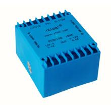 pcb mount encapsulated AC power transformer