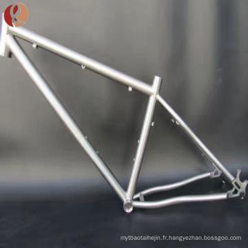 cadre de vélo de titane vtt du fabricant de cadre de bicyclette