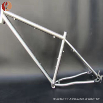 titanium mtb bike frame from bicycle frame manufacturer