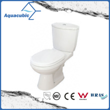 Siphonic Dual Flush Two-Piece Elongated Toilet in White (ACT9028)
