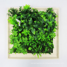 DIY personalizado 25 * 25 cm marcos duraderos arte de la pared para la decoración del jardín de su casa