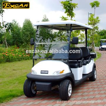 Carrito de golf eléctrico de 4 asientos carro de golf barato en venta coche con errores eléctrico