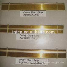 AgSnO2 brass C2680 bimetal strip for stamping