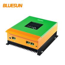 Bluesun 12V 24v 36v 48v Identificación automática mppt controlador de carga solar 30a 60a