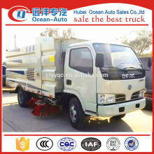 DFAC small capacity of mechanical broom sweeper/road sweeper truck for sale