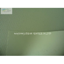 Green Twill Embossed PU Leather AS022
