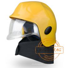 Casque de lutte contre l'incendie Xfk-04-1 Adoptez un plastique renforcé