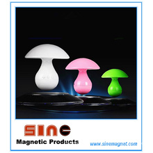 Fashion Mushroom Magnetic Levitation Music Night Lamp with Bluetooth Speaker