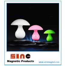 Lâmpada da noite da música da levitação magnética do cogumelo da forma com orador de Bluetooth