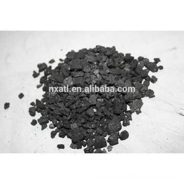 Carvão ativado com granulado de carvão para tratamento de águas residuais