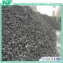 Type de coke métallurgique Coke à haute teneur en carbone à faible teneur en carbone de vente chaude a rencontré le fournisseur de la Chine