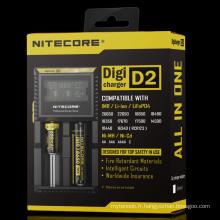 Populaire en Malaisie Nitecore D2 18650 Chargeur de batterie