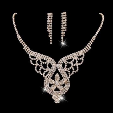 Pendientes de collar de oro de Lady Jewelry Kits