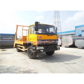 Discount new design 4cbm carry container garbage truck