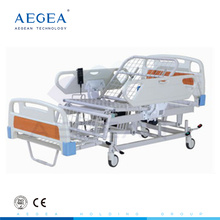 AG-BM119 ABS headboard electro-coating hospital bed for sale