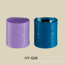 Vente chaude 20/410 bouchon supérieur de disque en plastique