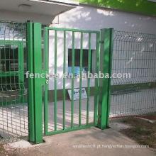 portão de tapume