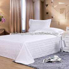 T / C 3cm Satin Streifen Stoff für Hotel Bettwäsche-Set