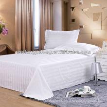 T / C 3 cm tecido de cetim tarja para o conjunto de cama do hotel