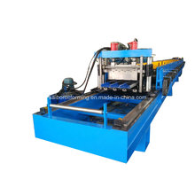Máquina de formación de rollo de cubierta metálica de corte de pista