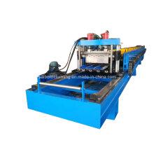 Petit pain de plate-forme en métal de coupe de voie formant la machine