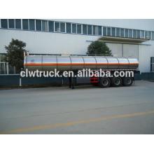 3 eixos 49000L reboque tanque de óleo comestível