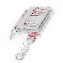Машина для производства нетканых материалов PP 2400MM