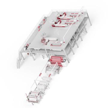 Máquina para tecido não tecido PP 2400MM